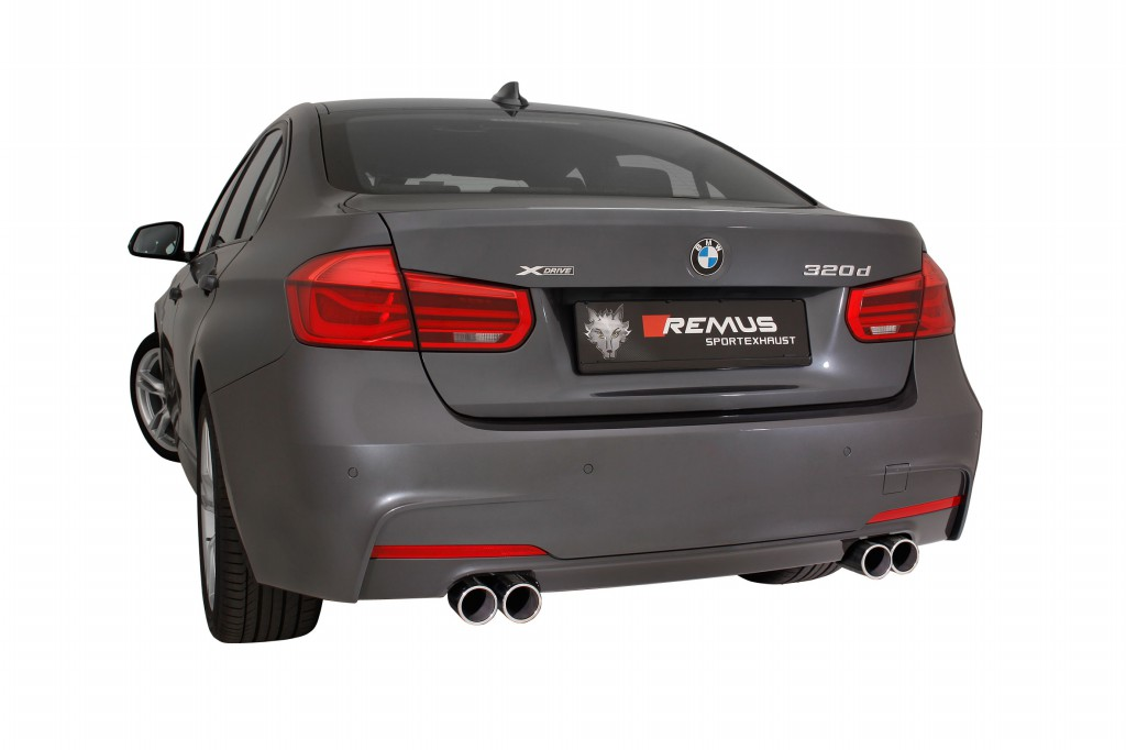 Remus Product Information 28 2015 Bmw 3 F30 F31 Facelift